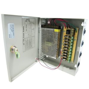 Power Supply Box 12V 10A
