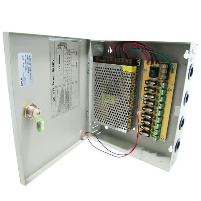 Power Supply Box 12V 10A