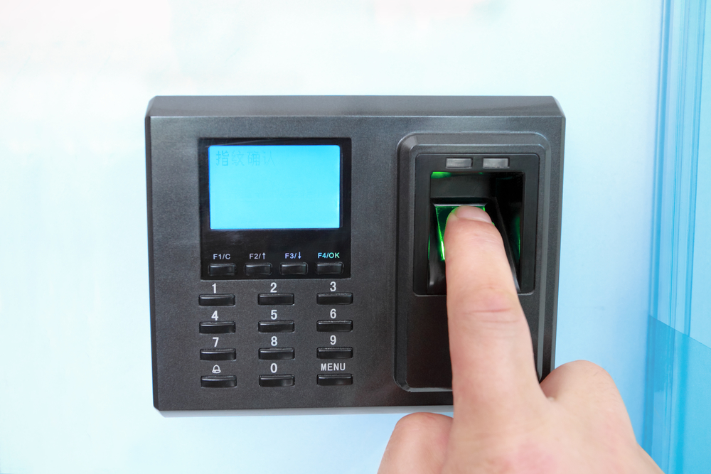 fingerprint and password lock